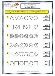 Pictures Geometric Patterns Worksheet - Roostanama