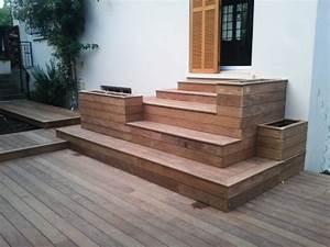 terrasses en bois bois exemples de realisations With terrasse bois avec piscine 7 multi services photos realisations piscines