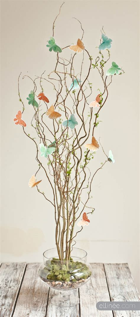 twig trees for centerpieces top 10 wonderful diy decorations inspired by spring top inspired
