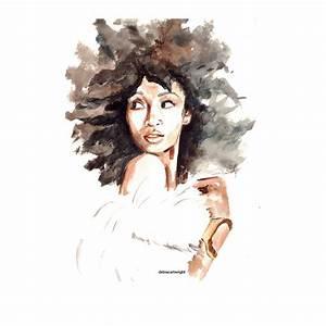 Delicate Watercolors Combat Oversimplified 'Strong Black ...