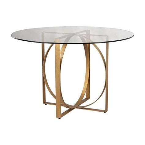 gold entry table powell gold entry table