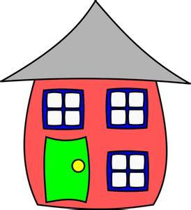 14985 Kostenlose Clipart Zeichnung Haus  Public Domain