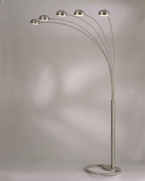 Tiffany Style Lamp Shades by Nova Lighting 4231rx Mushroom 5 Light Arc Floor Lamp