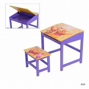 Schreibtisch Hocker Kinder : kinder schreibtisch mit hocker disney winnie pooh maltisch ~ Lizthompson.info Haus und Dekorationen