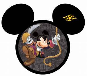 pirate mickey w logo | DC - Fish Extender, Gift Ideas ...