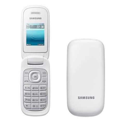 new flip phones brand new samsung e1270 white flip phone unlocked ebay