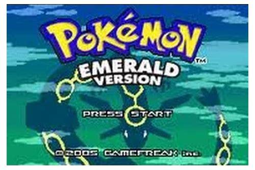 baixar pokemon emerald em portugues para gba android