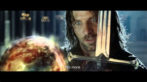 return   king extended edition aragorn confronts