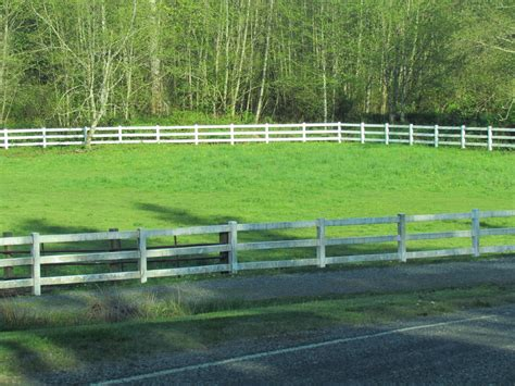 horse fence corral pasture fenced rurality rustic nearby lovely there through