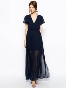 sleeve maxi dresses for weddings navy v neck sleeve maxi dress maxi dresses sleeve sleeve dresses