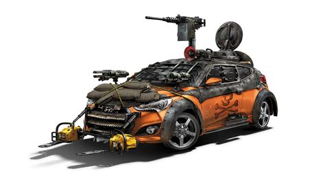 Hyundai Shows Walking Dead Veloster Zombie Survival