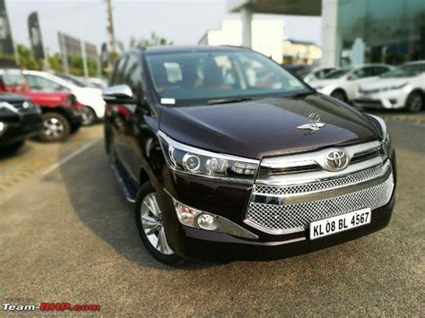 toyota innova crysta official review page  team bhp