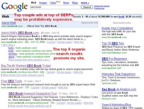 Seo Search Results - outdistancing yahoo in monetizing branded serps