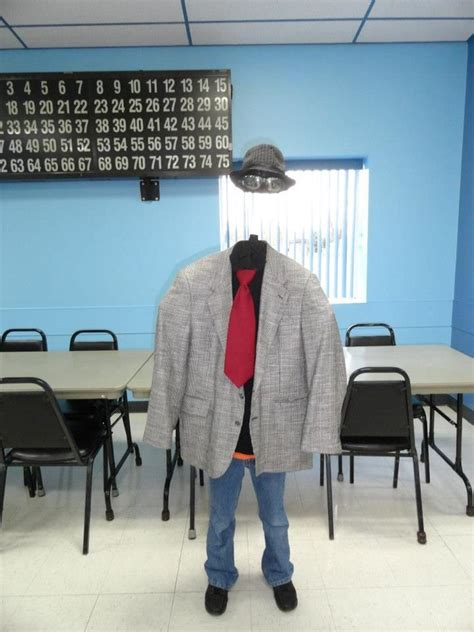 The Invisible Man Halloween Costume 2012 He won 1st in his ...