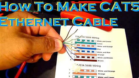 cat5 cable colors cat 5 cable color order