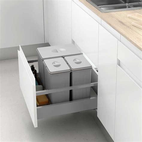 cubos reciclaje basura mod   cajon de cocina