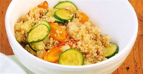 Schnelles Quinoa Mit Buntem Gemüse Rezept