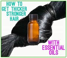 Image result for beautiful thick hair using essential oils