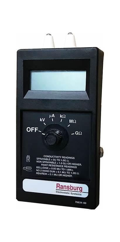 Ransburg Test Equipment Ensure Certifi Iso Standards