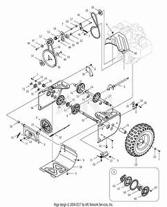 Mtd 31ae6lfg700  2005  Parts Diagram For Drive