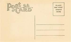 Vintage Postcard Template Word | www.pixshark.com - Images ...