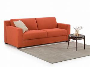 canape convertible couchage quotidien hector homeplaneur With canape convertible facile