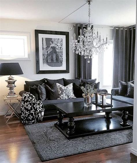 Living Room Black Furniture Decorating Ideas by 134 Cozy Glam Living Room Ideas Living Room Wohnzimmer