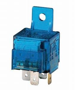 New Hella 003530041 12v 25 Amp Spst Mini Iso Relay With
