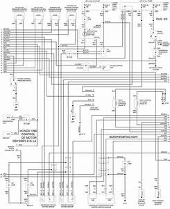 Diagrama Electrico Automotriz Honda