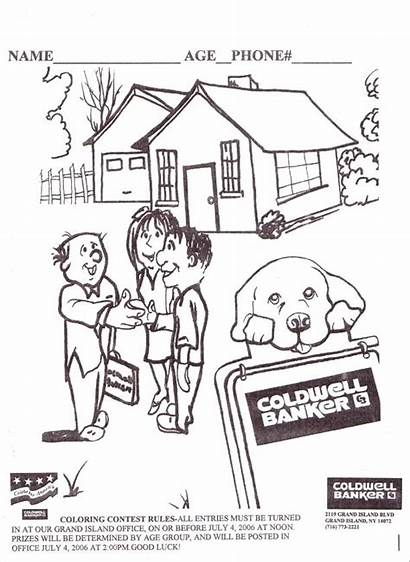 Coloring Island Contest Grand Estate Banker Coldwell