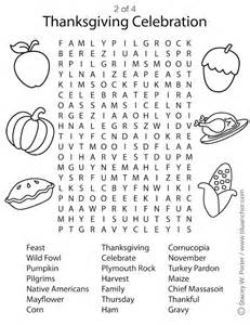 Free Printable Thanksgiving Activities Sheets
