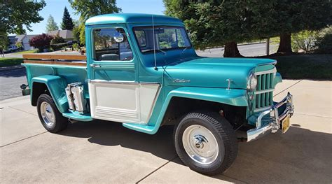 1962 willys jeep pickup 1962 willys jeep restomod done properly jk forum