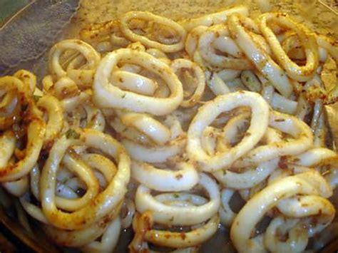 cuisine calamar recette d 39 anneaux de calamar gouteux à ma façon