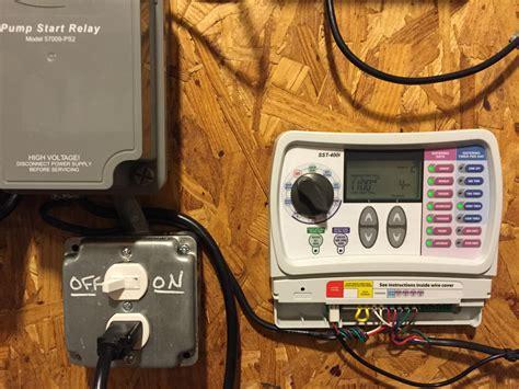 topic opensprinkler start relay wiring question opensprinkler