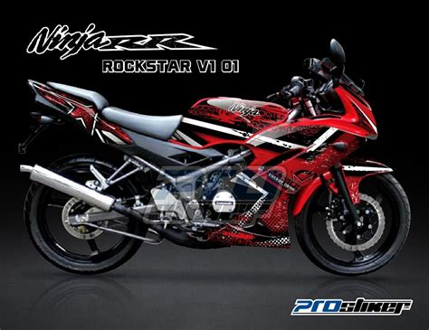 Modifikasi Rr Warna Merah by Striping 150 Rr New Merah Modifikasi Prostiker