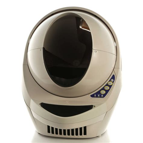 automatic self cleaning litter box litter open air available now at robotshop