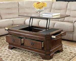 Medium, Brown, Traditional, Lift, Top, Cocktail, Coffee, Table, Living, Room, Furniture