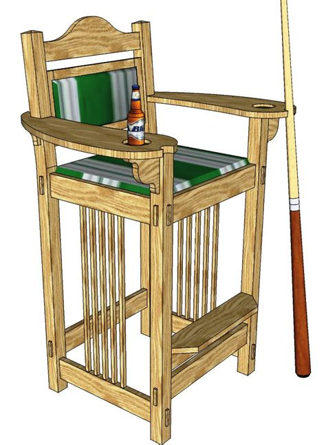 billiard chair   woodworking plansd woodworking plans