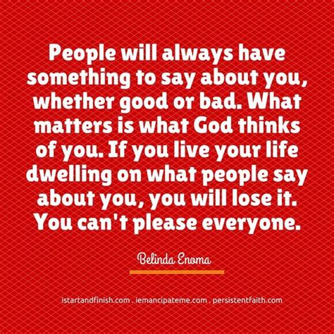 Let Them Talk About You Quotes