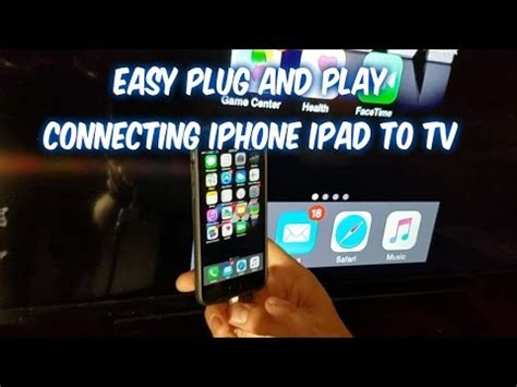 connect iphone to tv how to connect iphone to tv