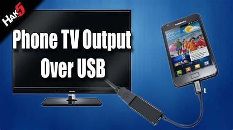 hak mobile phone tv output  usb youtube