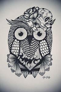 Tatouage Chouette Signification : tatouage hibou tatouages chouette tatouage tatouage ~ Melissatoandfro.com Idées de Décoration