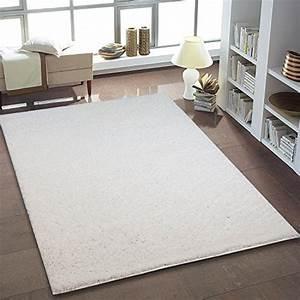 Hochflor Teppich Weiß : uni hochflor shaggy teppich einfarbig weiss neu ko tex ~ Lateststills.com Haus und Dekorationen