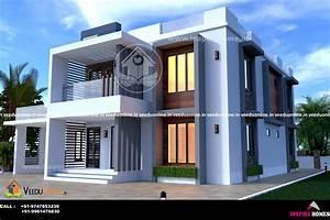 3000, Square, Feet, Double, Floor, Modern, Home, Design