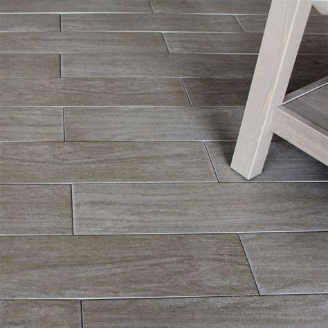 wood porcelain floor tile 10x10cm sle of 56x14cm wood noce wood effect porcelain floor tile ebay