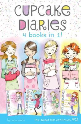Cupcake Diaries 4 Books In 1 2 Katie By Coco Simon