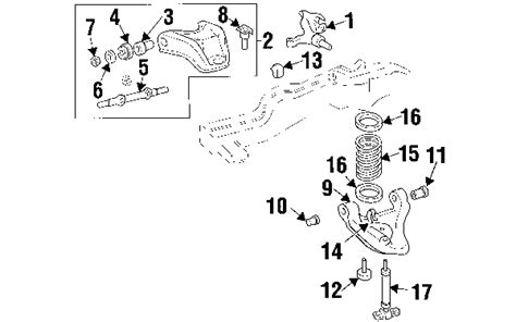 online service manuals 1999 gmc jimmy navigation system parts com 174 genuine factory oem 2003 chevrolet blazer zr2 v6 4 3 liter gas front suspension