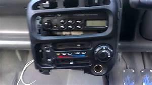 Hyundai Atoz  Amica Radio Facia Removal