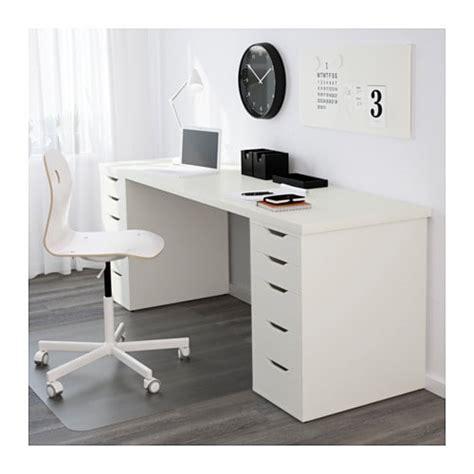 ikea tafel alex alex linnmon table white 200x60 cm ikea