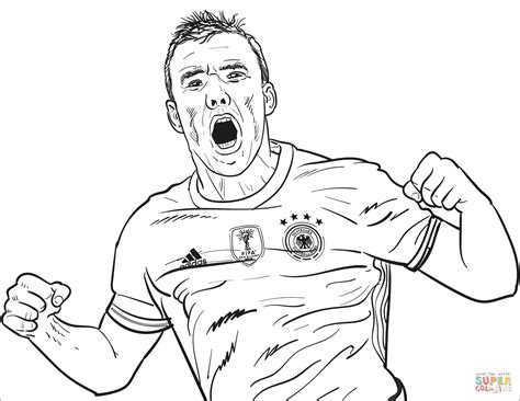Girl Soccer Ball Coloring Page